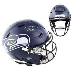 Russell Wilson Signed Seahawks Full-Size Authentic On-Field SpeedFlex Helmet (Mill Creek Sports COA)