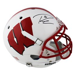 Russell Wilson Signed Wisconsin Badgers Full-Size Authentic On-Field Helmet (Mill Creek Sports COA)