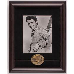 Elvis Presley 14x17.5 Custom Framed Photo Display with Pin