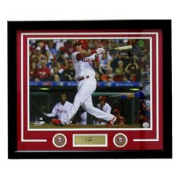 Rhys Hoskins Phillies 22x27 Custom Framed Photo Display