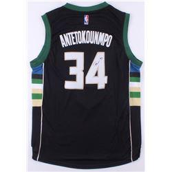 Giannis Antetokounmpo Signed Bucks Jersey (JSA COA)