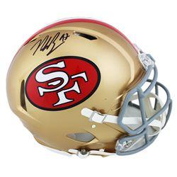 Nick Bosa Signed 49ers Full-Size Authentic On-Field Speed Helmet (Radtke COA)