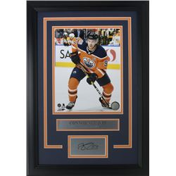 Connor McDavid Edmonton Oilers 11x14 Custom Framed Photo Display