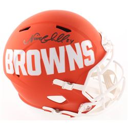 Nick Chubb Signed Browns Full-Size AMP Alternate Speed Helmet (JSA COA)