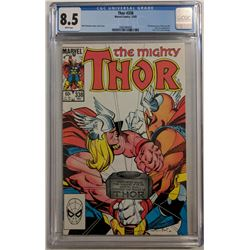 "1983 ""Thor"" Issue #338 Marvel Comic Book (CGC 8.5)"