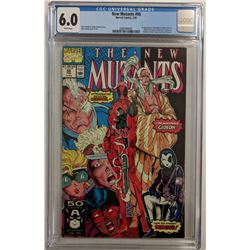 "1991 ""New Mutants"" Issue #98 Marvel Comic Book (CGC 6.0)"