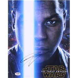 "John Boyega Signed ""Star Wars: The Force Awakens"" 11x14 Photo (PSA Hologram)"