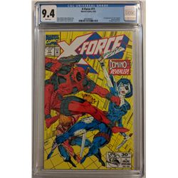 "1992 ""X-Force"" Issue #11 Marvel Comic Book (CGC 9.4)"
