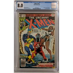 "1979 ""The Uncanny X-Men"" Issue #124 Marvel Comic Book (CGC 8.0)"