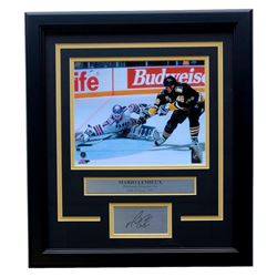 Mario Lemieux Penguins 11x14 Custom Framed Photo Display