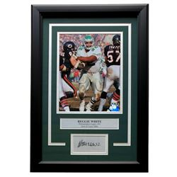Reggie White Eagles 11x14 Custom Framed Photo Display