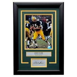 Bart Starr Packers 11x14 Custom Framed Photo Display