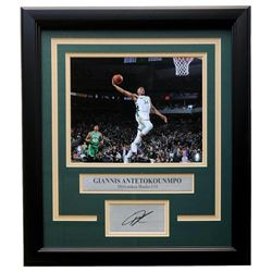 Giannis Antetokounmpo Bucks 11x14 Custom Framed Photo Display