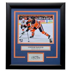 Connor McDavid Oilers 11x14 Custom Framed Photo Display