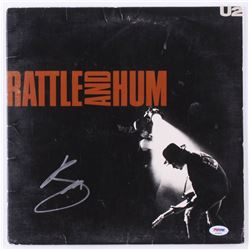 "Bono Signed U2 ""Rattle and Hum"" Vinyl Record Album (PSA Hologram)"