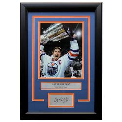Wayne Gretzky Oilers 11x14 Custom Framed Photo Display