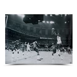 Michael Jordan Signed Bulls 30x40 Photo (UDA COA)