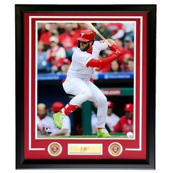 Bryce Harper Phillies 22x27 Custom Framed Photo Display