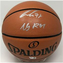 "Luka Doncic Signed NBA Game Ball Series Basketball Inscribed ""19 ROY"" (Fanatics Hologram)"