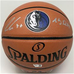 "Luka Doncic Signed Mavericks Logo NBA Game Ball Series Basketball Inscribed ""19 ROY"" (Fanatics Holog"