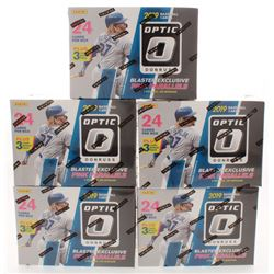 Lot of (5) 2019 Donruss Optic Baseball Blaster Boxs with (24) Card Each