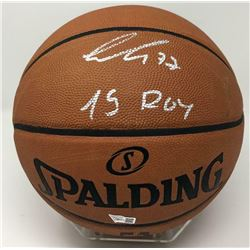 "Luka Doncic Signed Official NBA Game Ball Basketball Inscribed ""19 ROY"" (Fanatics Hologram)"