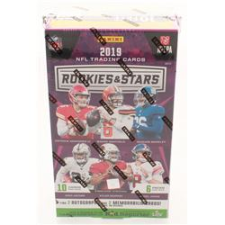 2019 Panini Rookies  Stars Football Hobby Box with (60) Cards