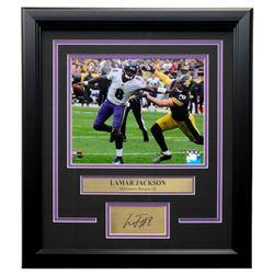 Lamar Jackson Ravens 14x18 Custom Framed Photo Display