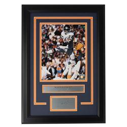 Walter Payton Bears 14x18 Custom Framed Photo Display
