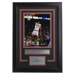 Allen Iverson 76ers 14x18 Custom Framed Photo Display