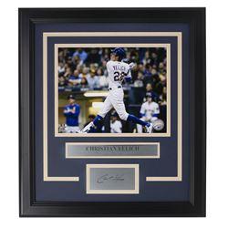 Christian Yelich Brewers 14x18 Custom Framed Photo Display