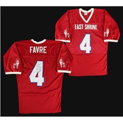 """Brett Favre Signed East Shrine Game-Used Jersey Inscribed """"Game Used Shrine Game MVP 1/26/91"""" (J"""