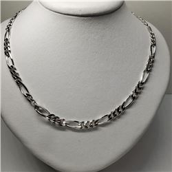 Silver Mens Necklace (~length 20cm) (~weight 23.5g) (Estimated Selling Price from $75 to $150)