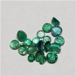 Genuine Loose Emerald(2ct) (2mm to 4mmmm) (Estimated Selling Price from $30 to $60)