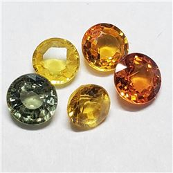 Genuine Fancy Color Sapphire(2ct) 5 Fancy Color (Estimated Selling Price from $45 to $90)