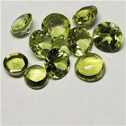 Genuine Peridot(3ct) (2mm to 5mmmm) (Estimated Selling Price from $30 to $60)