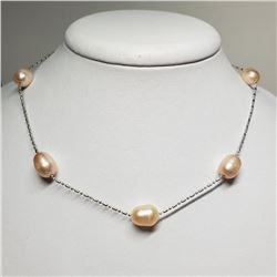 Pearl Necklace (~length 17.5cm)