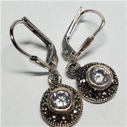 Silver Clasp Earrings Earrings