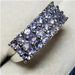 Silver Tanzanite(1.8ct) Ring (~Size 7) (Estimated Selling Price from $60 to $120)