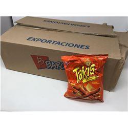Case of Taki's Xplosion Zesty Nacho Tortilla Rolls (18 x 90g)