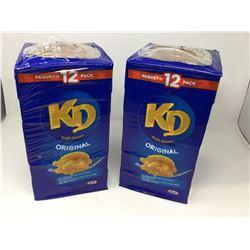 Lot of Kraft Dinner Original (12 x 2 x 225g)