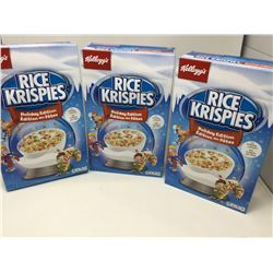 Lot of Kellogg's Rice Krispies Holiday Edition (3 x 440g)
