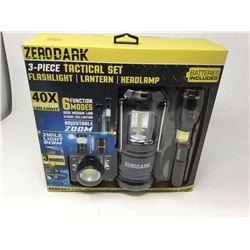 Zero Dark 3 Piece Tactical Set