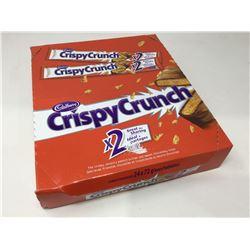Lot of Cadbury Crispy Crunch Candy Bars 2X (24 x 72g)