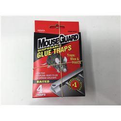 MouseGuard Disposable Glue Traps (4 x 4)