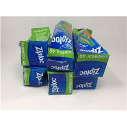 Lot of Ziplock Sandwich Bags (40 x 6)