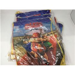 Lot of 12 Drawstring Alvin & The Chipmunks Bags