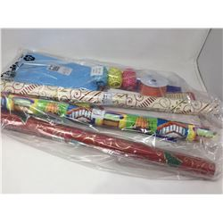 Lot of Assorted Wrapping Paper