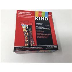 Lot of Kind Bars- Cherry Cashew & Dark Chocolate (12 x 40g)
