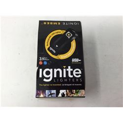 Ignite Lighters-USB Rechargeable (10 ct)